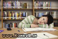 رفع مشکل خواب آلودگی موقع درس خواندن