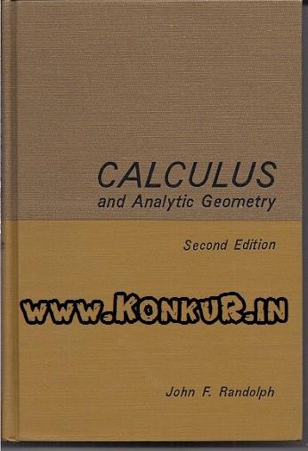 دانلود کتاب ریاضی و هندسه تحلیلی راندولف