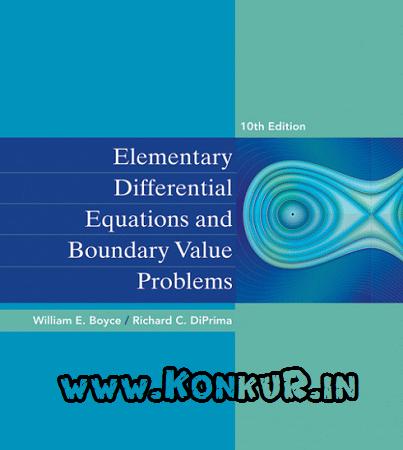 دانلود کتاب و حل المسائل معادلات دیفرانسیل مقدماتی بویس ویرایش 10