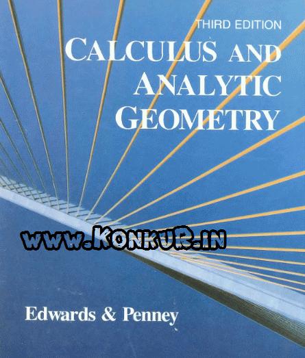 دانلود کتاب ریاضی و هندسه تحلیلی ادواردز ویرایش 3