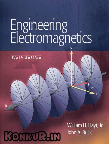 دانلود کتاب و حل المسائل مهندسی الکترومغناطیس هایت ویرایش 6