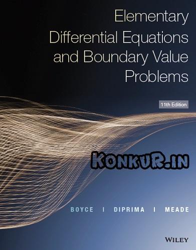 دانلود کتاب معادلات دیفرانسیل مقدماتی بویس ویرایش 11