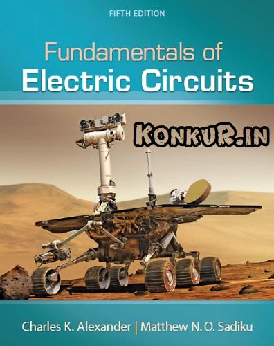 دانلود کتاب و حل المسائل مبانی مدارهای الکتریکی الکساندر و سادیکو ویرایش 5